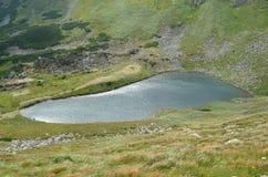 озеро гористой местности Стоковое фото RF