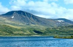 Озеро горы Норвегии Стоковые Фото