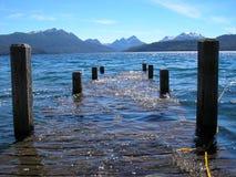 Озеро & горы Стоковое Изображение