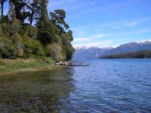 Озеро & горы Стоковое фото RF