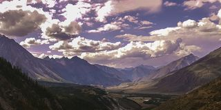 Озеро горы Altai горы Стоковое Изображение