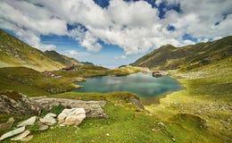Озеро горы Balea стоковая фотография rf