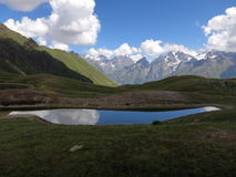 Озеро горы Koruldi Стоковые Фотографии RF