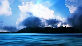 Озеро гор, видео HD иллюстрация штока
