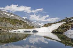 Озеро гор на Pfitscherjoch Стоковое Изображение