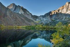 Озеро гор осени Стоковое фото RF