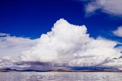 Озеро гор панорамное Стоковое Изображение RF
