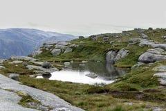 Озеро гор Стоковые Изображения