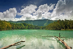 Озеро гор Стоковое фото RF