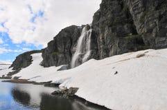 Озеро гор Стоковые Фотографии RF