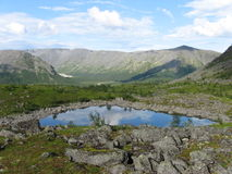 Озеро гор Khibini Стоковые Фотографии RF