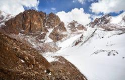 Озеро гор Snowy Стоковая Фотография RF
