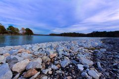 Озеро Джексонвилл стоковые фотографии rf