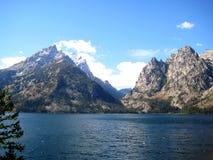 Озеро Дженни (Вайоминг, США) Стоковое Изображение RF