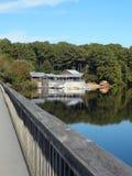 Озеро Джонсон, Северная Каролина стоковое фото rf