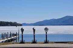 Озеро Джордж, Нью-Йорк Стоковое Фото