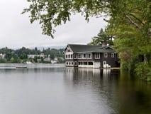 озеро дома Стоковая Фотография RF