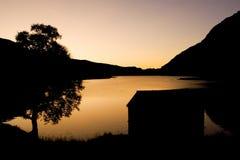 озеро дома Стоковые Изображения RF