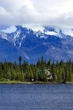 озеро дома стоковое фото rf