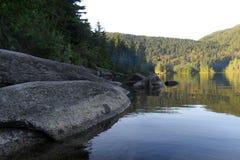 Озеро ДО РОЖДЕСТВА ХРИСТОВА Канада запинание Стоковые Фото