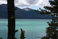 Озеро ДО РОЖДЕСТВА ХРИСТОВА Канада Chilko стоковое изображение