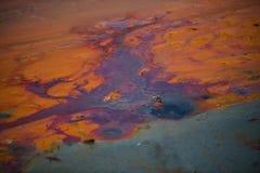 Озеро загрязнени Стоковое Изображение
