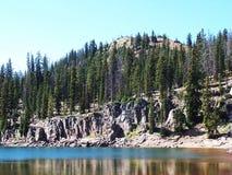 Озеро замк Стоковые Фотографии RF