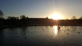 Озеро замк Стоковые Фото