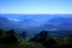 озеро заречья Чили Стоковые Фотографии RF