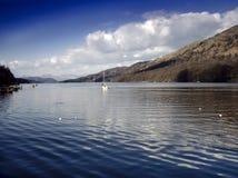 озеро заречья Стоковая Фотография