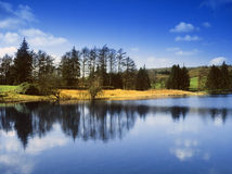 озеро заречья Стоковые Изображения