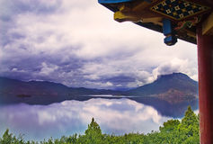 озеро зданий китайское историческое Стоковые Изображения RF