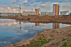 озеро здания Стоковая Фотография RF