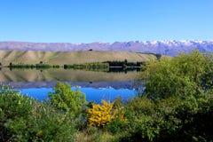 Озеро зеркал Стоковая Фотография