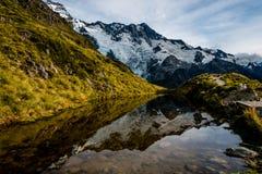 Озеро зеркала кашевара Mt стоковая фотография rf