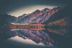 Озеро зеркал Стоковая Фотография RF