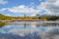 Озеро зеркал Стоковое Изображение RF
