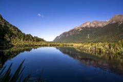 Озеро зеркал стоковое фото