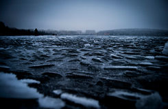 Озеро зим Стоковые Изображения
