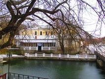 Озеро зим, Kamenets Podolskiy, Украина Стоковые Фото