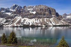 озеро изумруда alberta banff Канады Стоковая Фотография RF