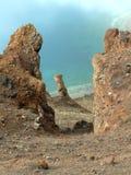 озеро Исландии вулканическое Стоковая Фотография