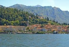 озеро Италии como bellagio Стоковые Изображения