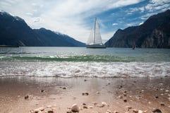 озеро Италии garda Стоковое Изображение