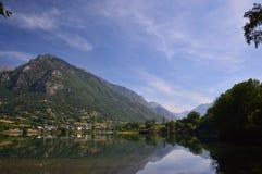 Озеро июль Eriste Стоковое Изображение RF