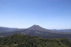 Озеро и вулкан Kintamani Batur Стоковое Изображение RF