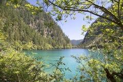 Озеро и гора Стоковые Изображения RF