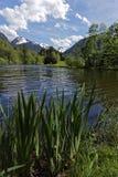 Озеро и горы Стоковые Фотографии RF