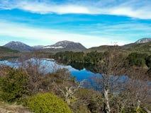 Озеро и горы Стоковая Фотография RF