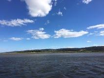 Озеро и земля Стоковые Фото